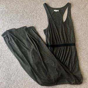 Urban Outfitters Olive Maxi Dress w/ slits!